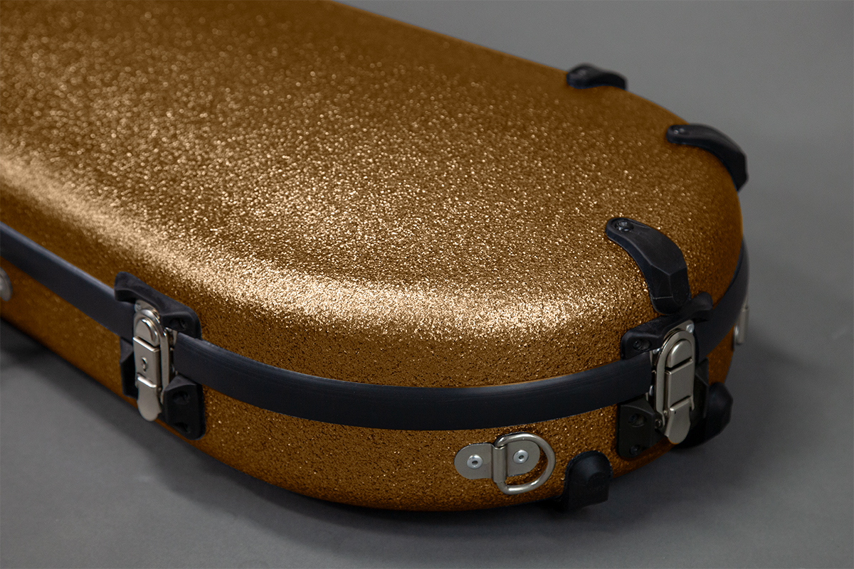 Viola Hard Case latches bumpers d-ring