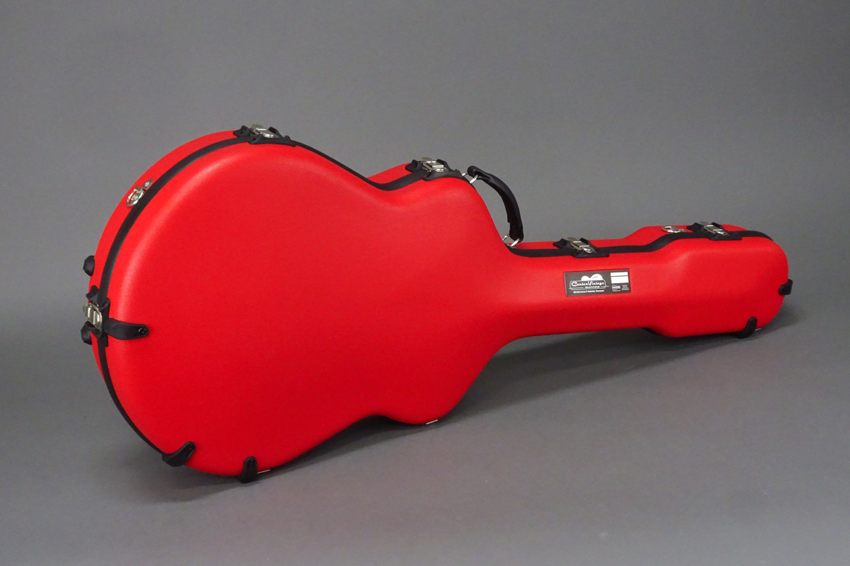 Acoustic Guitar Hard Case front angle