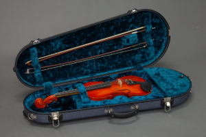 Violin Hard Case with instrument